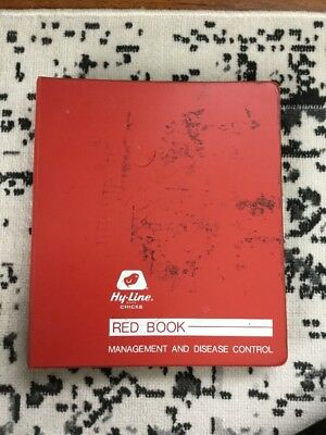 Hy-Line Chicks Red Book Management And Disease Control