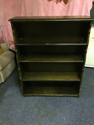 Lovely Old Freestanding Bookcase  3 Shelf Unit  Ideal Shabby Chic