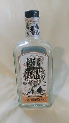 Jeremiah Weed Empty 750 ml Bottle with Cap