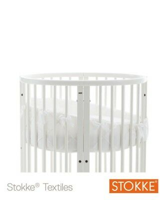 Stokke Sleepi Mini Cot Bumper in White. Washed but never used. Cost £59.