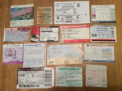 50 x Football Match tickets. 1960 Onwards. Inc. FA & League Cup final, England,