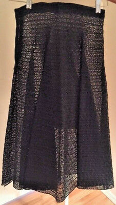 Vintage Italian Lace Skirt by Paoli - 1940s XS