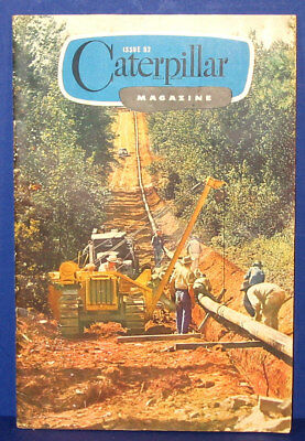 Vintage 1940's Caterpillar Tractor Co.Construction Equipment Magazine 24 Pages.