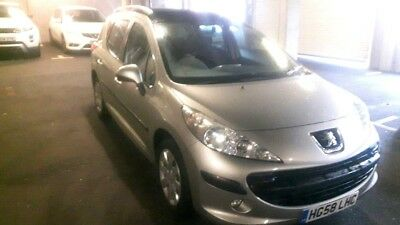 peugeot 207 sw 1.6 vti automatic 59000 miles with service history,panoramic roof