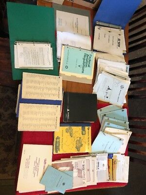 Vintage Aviation Literature Huge Lot As Is Incl Aviation Orders, Etc
