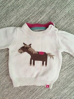 Joules Baby Girl Jumper 6-9 Months