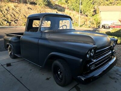 1959 Chevrolet Other Pickups 3100 1959 Chevy Apache, Short Bed, Step Side.Black