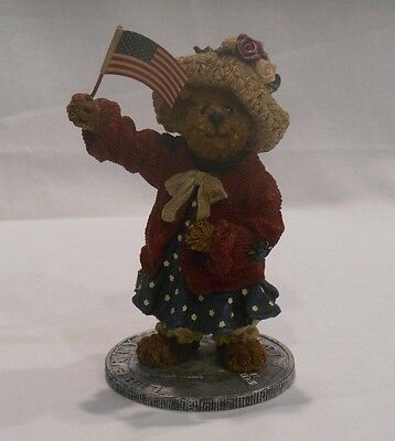 "Boyds Bears & Friends, The Bearstone Collection, ""Eleanore Bearsevelt"""