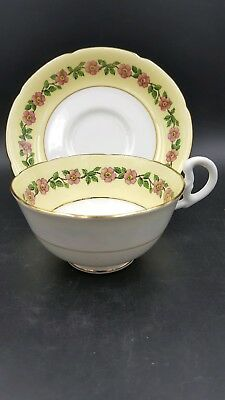 Royal Grafton Bone China England Tea Cup and Saucer Set
