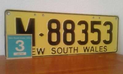 Number Plate x 1. NSW Trailer Plate .