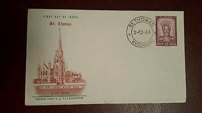 Fdc - india - 2 december 1964 - fine Used Condition - Lot 67
