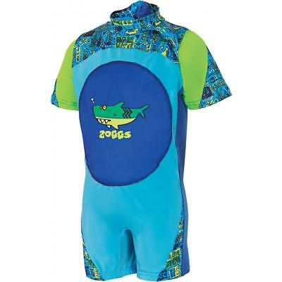 Zoggs Deep Sea Swimfree Floatsuit Blue 2-3 years