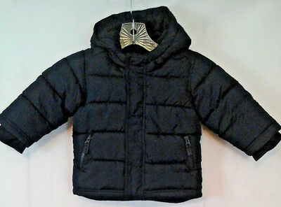 695bc8ef200d OLD NAVY TODDLER Boy s 18-24 Navy Blue FROST FREE Puffer Jacket ...