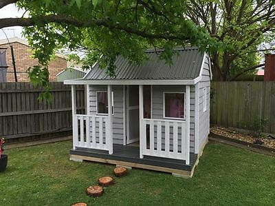 Country Cubbies - The Brunswick - Kid's Timber Cubby - Play Equipment - Outdoors