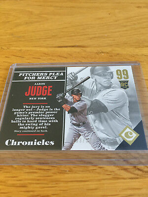 2017 Panini Chronicles Baseball MLB Gold Aaron Judge New York Yankees #/399