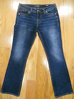 Silver Jeans Co. Women's Suki Mid Slim Boot Jeans 31 x 31