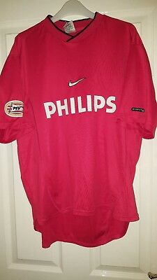Mens Football Shirt - PSV Eindhoven - Holland / Dutch - Nike - Philips - Red XL