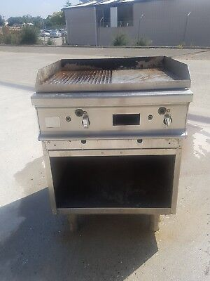Commercial  Gas Chargrill Char Grill Catering Equipment Hotel