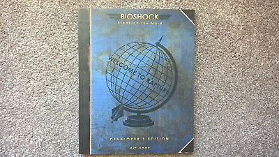 Bioshock Breaking the Mold Developer's Edition Art Book - rare and collectable