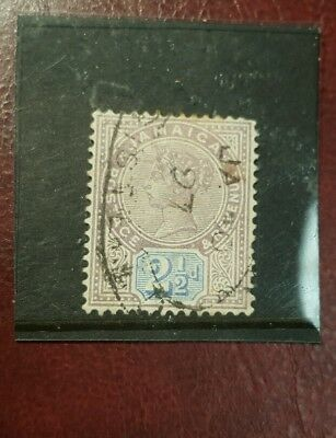 stamp - jamaica  1889  early issie fine used  - 2 1/2 d-   Lot 781