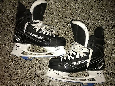 Brand New CCM Pro Stock 9.5 D 70k Skates W/ Lightspeed Edge Holders MIC