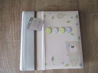 PEPPERPOT BABY  Large Photo Album - 200 photos - Blue **New - Never Used**
