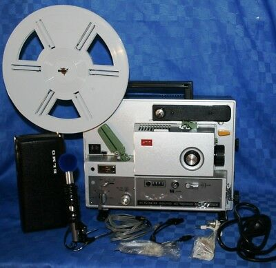 Projector Heaven Elmo St-1200Hd Super 8, 2 Track Sound Movie Projector Serviced