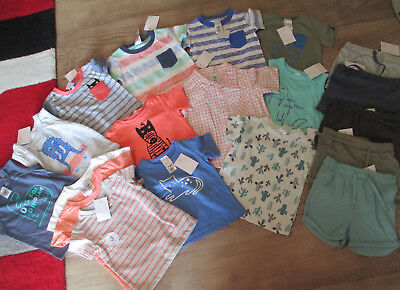 BABY BOYS Mixed Clothes - Size 00 - All New with Tags - 19 items