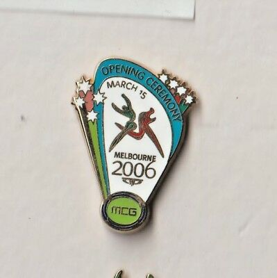 Melbourne 2006 Commonwealth Games Opening Ceremony Badge.