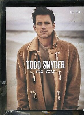 Matt Bomer- Gay Actor- Todd Snyder Fashion Catalog- Fall 2017- 47 Pages-