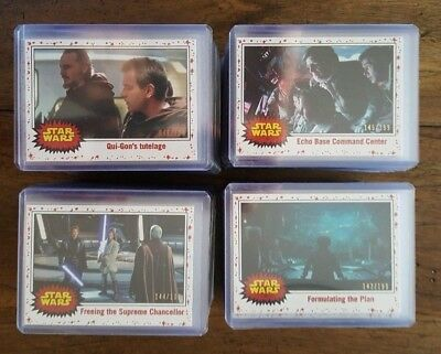 2017 Topps Star Wars Journey To The Last Jedi White Base Parallel U PICK 1!