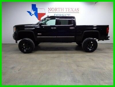 2014 GMC Sierra 1500 All Terrain 4WD Professionally Lifted New Tires Po 2014 All Terrain 4WD Professionally Lifted New Tires Po Used 5.3L V8 16V OnStar