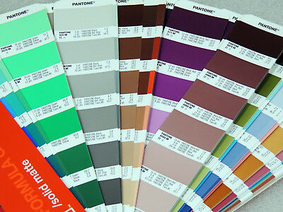 Pantone Color Formula Guide Solid MATTE Large Edition With Special Features am