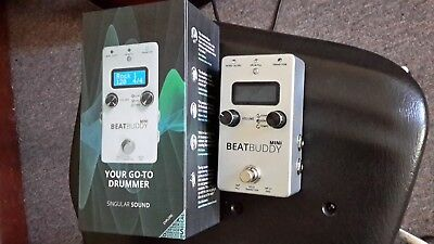 Beatbuddy mini drum effect pedal as new in the box