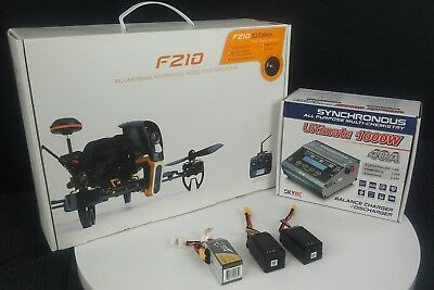Walkera F210 3D Racing Quad/BNF/5.8Ghz/700TVL camera/ 3 Battery's + Charger 💥
