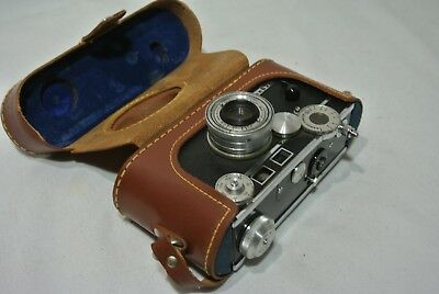 "Vintage Argus C3 Rangefinder ""The Brick"" w/ original case  UNTESTED"