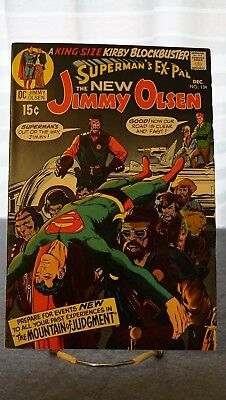 Superman's Pal #134 - 1St Cameo App. Of Darkseid - Bronze Age Key! Kirby! Wow!!