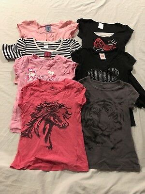 Girls Size 7 Mixed Items Bulk Lot - Day Care Casual Bundle