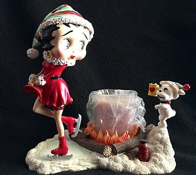 "Danbury Mint-Betty Boop-""toasty Warm""-Lighted Figurine Collectable"