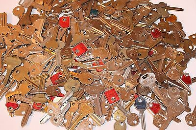 LARGE Lot of Key Blanks 3 lb++ Some House Car COMMERCIAL NEW OLD ALL UNCUT