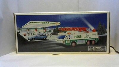 Hess Gasoline Truck Emergency Ladder Fire Truck Toy 1996 NEW in BOX
