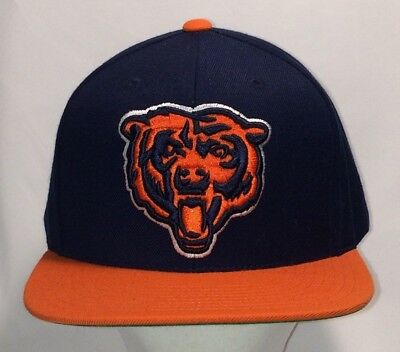 e7532f63bd6 Chicago Bears NFL Football Snapback Hat Mitchell and Ness Baseball Cap  T110F8136