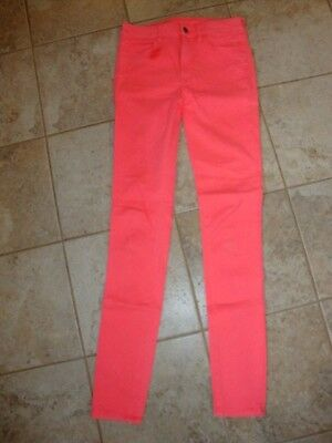 American Eagle Outfitters Hi-Rise Jegging neon pink/orange 6 XL