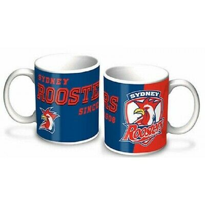 Sydney Roosters Official NRL 325ml Cup Mug Tea Coffee