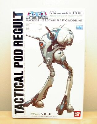 Robotech Macross 1/72 Tactical Pod Regult MIB
