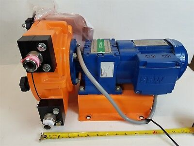 Prominent DFBA Peristaltic Metering Dosing Pump with SEW RF17 0.18kW Motor Used