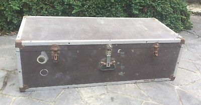 Old timber wooden tool box