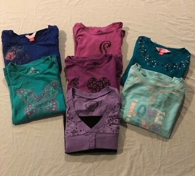 Girls Size 10 Mixed Bundle Winter - great colours!