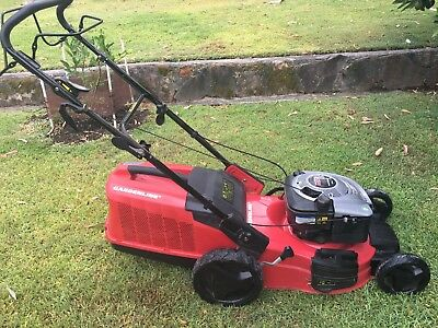 Gardenline Self Propelled Petrol Lawn Mower Exc Cond as New 650E 190CC 4 Stroke