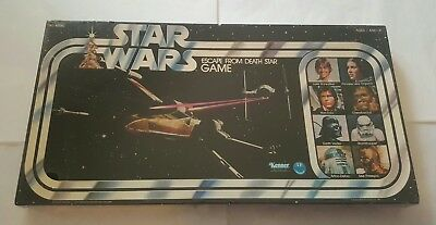 Vintage Star Wars 1977 Escape From Death Star Game MISB